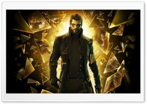 Deus Ex Human Revolution Ultra HD Wallpaper for 4K UHD Widescreen desktop, tablet & smartphone
