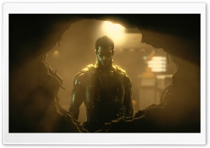 Deus Ex Human Revolution HD Wide Wallpaper for 4K UHD Widescreen desktop & smartphone