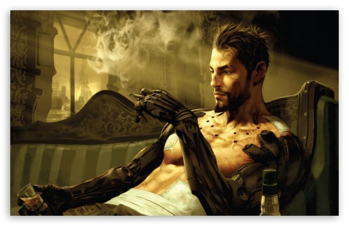 Deus Ex Human Revolution HD wallpaper for Wide 16:10 5:3 Widescreen WHXGA WQXGA WUXGA WXGA WGA ; HD 16:9 High Definition WQHD QWXGA 1080p 900p 720p QHD nHD ; Standard 4:3 3:2 Fullscreen UXGA XGA SVGA DVGA HVGA HQVGA devices ( Apple PowerBook G4 iPhone 4 3G 3GS iPod Touch ) ; iPad 1/2/Mini ; Mobile 4:3 5:3 3:2 16:9 - UXGA XGA SVGA WGA DVGA HVGA HQVGA devices ( Apple PowerBook G4 iPhone 4 3G 3GS iPod Touch ) WQHD QWXGA 1080p 900p 720p QHD nHD ;