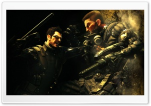 Deus Ex Human Revolution HD Wide Wallpaper for Widescreen
