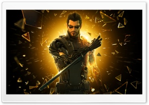 Deus Ex Human Revolution   Adam Jensen HD Wide Wallpaper for Widescreen