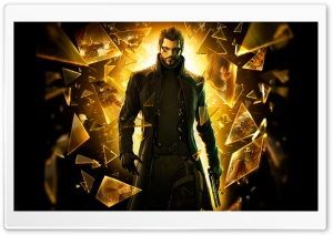 Deus Ex Human Revolution Pieces Of Glass Ultra HD Wallpaper for 4K UHD Widescreen desktop, tablet & smartphone
