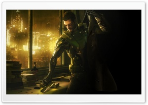 Deus Ex Human Revolution Video Game HD Wide Wallpaper for Widescreen
