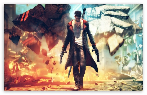Devil May Cry HD wallpaper for Wide 16:10 5:3 Widescreen WHXGA WQXGA WUXGA WXGA WGA ; HD 16:9 High Definition WQHD QWXGA 1080p 900p 720p QHD nHD ; Standard 4:3 5:4 3:2 Fullscreen UXGA XGA SVGA QSXGA SXGA DVGA HVGA HQVGA devices ( Apple PowerBook G4 iPhone 4 3G 3GS iPod Touch ) ; Tablet 1:1 ; iPad 1/2/Mini ; Mobile 4:3 5:3 3:2 16:9 5:4 - UXGA XGA SVGA WGA DVGA HVGA HQVGA devices ( Apple PowerBook G4 iPhone 4 3G 3GS iPod Touch ) WQHD QWXGA 1080p 900p 720p QHD nHD QSXGA SXGA ;