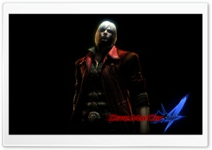 Devil May Cry 4 - Dante HD Wide Wallpaper for Widescreen