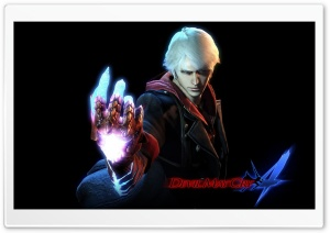 Devil May Cry 4 - Nero HD Wide Wallpaper for Widescreen