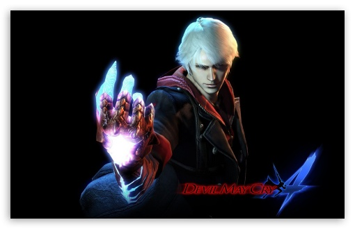 Devil May Cry 4 Nero Ultra Hd Desktop Background Wallpaper