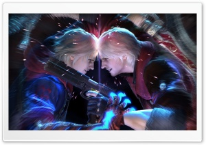 Devil May Cry 4 HD Wide Wallpaper for Widescreen