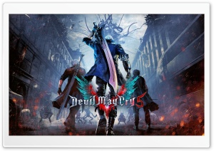 Devil May Cry 5 HD Wide Wallpaper for 4K UHD Widescreen desktop & smartphone