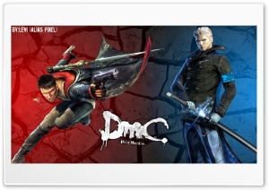 Devil May Cry - Dante  Vergil HD Wide Wallpaper for Widescreen