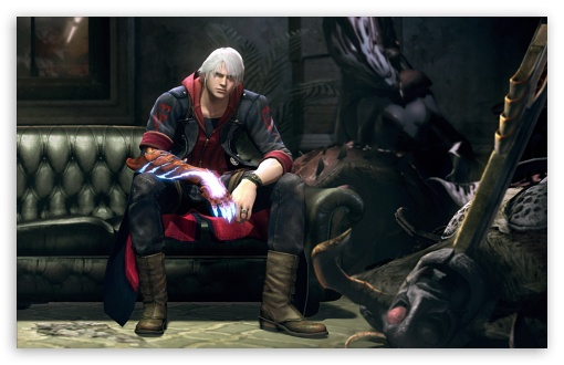 Devil May Cry DA02 HD wallpaper for Wide 16:10 5:3 Widescreen WHXGA WQXGA WUXGA WXGA WGA ; HD 16:9 High Definition WQHD QWXGA 1080p 900p 720p QHD nHD ; Standard 4:3 5:4 3:2 Fullscreen UXGA XGA SVGA QSXGA SXGA DVGA HVGA HQVGA devices ( Apple PowerBook G4 iPhone 4 3G 3GS iPod Touch ) ; iPad 1/2/Mini ; Mobile 4:3 5:3 3:2 16:9 5:4 - UXGA XGA SVGA WGA DVGA HVGA HQVGA devices ( Apple PowerBook G4 iPhone 4 3G 3GS iPod Touch ) WQHD QWXGA 1080p 900p 720p QHD nHD QSXGA SXGA ;