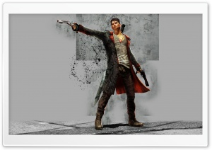 DEVIL MAY CRY dmc fantasy action adventure fighting warrior martial arts HD Wide Wallpaper for Widescreen