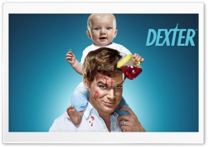 Dexter With Child HD Wide Wallpaper for 4K UHD Widescreen desktop & smartphone