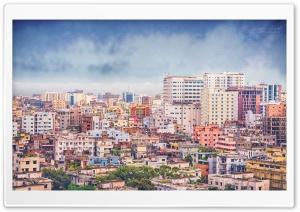 Dhaka City HD Wide Wallpaper for Widescreen