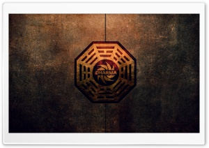 Dharma Initiative Logo HD Wide Wallpaper for Widescreen