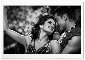 Dhoom 3 BW HD Wide Wallpaper for Widescreen