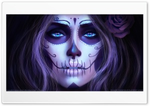 Dia de los Muertos HD Wide Wallpaper for Widescreen
