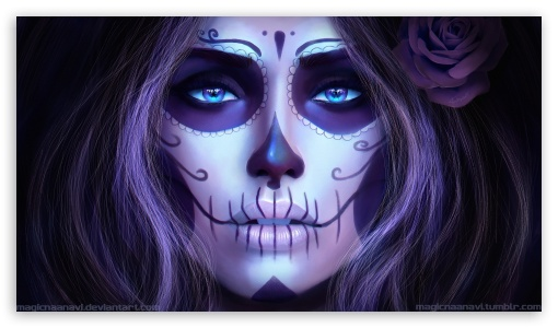 Download Dia De Los Muertos HD Wallpaper