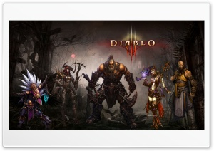 Diablo3 Single Screen HD Wide Wallpaper for Widescreen