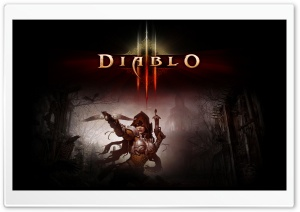 Diablo 3 HD Wide Wallpaper for Widescreen