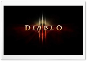 Diablo 3 Black HD Wide Wallpaper for Widescreen