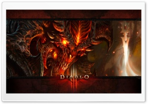 Diablo 3 Concept Art Ultra HD Wallpaper for 4K UHD Widescreen desktop, tablet & smartphone