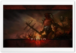 Diablo 3 Demon HD Wide Wallpaper for 4K UHD Widescreen desktop & smartphone