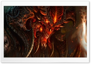 Diablo 3 Fan Art HD Wide Wallpaper for Widescreen