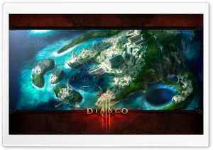 Diablo 3 Landscape HD Wide Wallpaper for Widescreen
