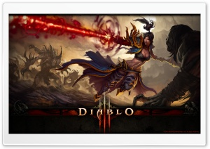 Diablo III - Battle HD Wide Wallpaper for Widescreen