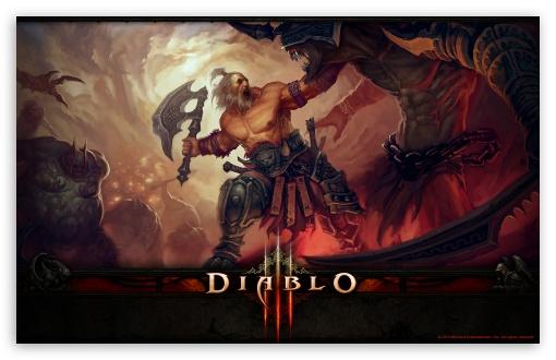 Diablo III Barbarian HD wallpaper for Wide 16:10 5:3 Widescreen WHXGA WQXGA WUXGA WXGA WGA ; HD 16:9 High Definition WQHD QWXGA 1080p 900p 720p QHD nHD ; Standard 4:3 5:4 Fullscreen UXGA XGA SVGA QSXGA SXGA ; iPad 1/2/Mini ; Mobile 4:3 5:3 16:9 5:4 - UXGA XGA SVGA WGA WQHD QWXGA 1080p 900p 720p QHD nHD QSXGA SXGA ;
