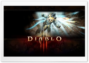 Diablo III Game HD Wide Wallpaper for Widescreen