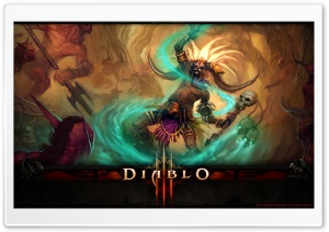 Diablo III Witch Doctor HD Wide Wallpaper for 4K UHD Widescreen desktop & smartphone