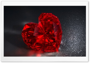 Diamond Heart HD Wide Wallpaper for Widescreen