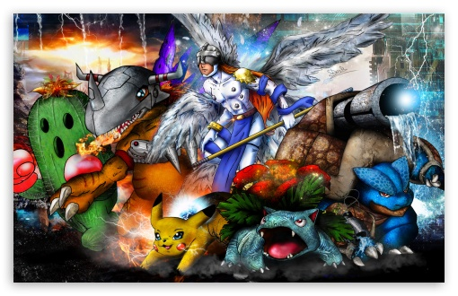 Digimon x Pokemon Mash Up 2014 ❤ 4K UHD Wallpaper for Wide 16:10 5:3 Widescreen WHXGA WQXGA WUXGA WXGA WGA ; 4K UHD 16:9 Ultra High Definition 2160p 1440p 1080p 900p 720p ; Standard 3:2 Fullscreen DVGA HVGA HQVGA ( Apple PowerBook G4 iPhone 4 3G 3GS iPod Touch ) ; Mobile 5:3 3:2 16:9 - WGA DVGA HVGA HQVGA ( Apple PowerBook G4 iPhone 4 3G 3GS iPod Touch ) 2160p 1440p 1080p 900p 720p ;