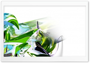 Digital Abstract Design HD Wide Wallpaper for Widescreen
