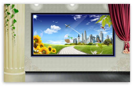Digital Composite Spring 5 UltraHD Wallpaper for Wide 16:10 5:3 Widescreen WHXGA WQXGA WUXGA WXGA WGA ; 8K UHD TV 16:9 Ultra High Definition 2160p 1440p 1080p 900p 720p ; Standard 3:2 Fullscreen DVGA HVGA HQVGA ( Apple PowerBook G4 iPhone 4 3G 3GS iPod Touch ) ; Mobile 5:3 3:2 16:9 - WGA DVGA HVGA HQVGA ( Apple PowerBook G4 iPhone 4 3G 3GS iPod Touch ) 2160p 1440p 1080p 900p 720p ;