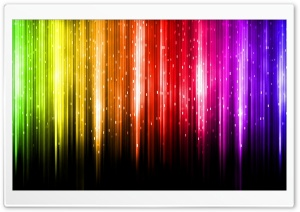 Digital Rainbow HD Wide Wallpaper for Widescreen