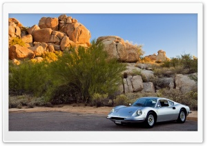 Dino 246GT Wallpaper - 2008 Concorso Arizona HD Wide Wallpaper for Widescreen