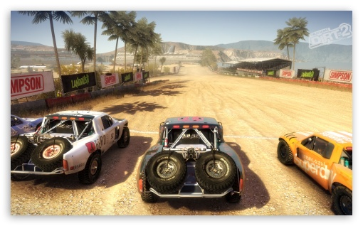 Dirt 2 Game HD wallpaper for Standard 5:4 Fullscreen QSXGA SXGA ; Wide 5:3 Widescreen WGA ; HD 16:9 High Definition WQHD QWXGA 1080p 900p 720p QHD nHD ; Mobile WVGA iPhone PSP Phone - WVGA WQVGA Smartphone ( HTC Samsung Sony Ericsson LG Vertu MIO ) HVGA Smartphone ( Apple iPhone iPod BlackBerry HTC Samsung Nokia ) Sony PSP Zune HD Zen ;