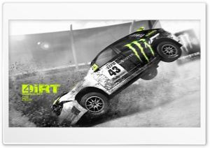 Dirt 4 Showdown - CS9 Fx Design HD Wide Wallpaper for 4K UHD Widescreen desktop & smartphone