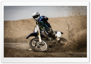 Dirt Biking Racing HD Wide Wallpaper for Widescreen