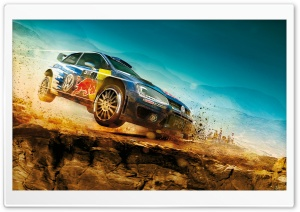 DiRT Rally Keyart HD Wide Wallpaper for Widescreen