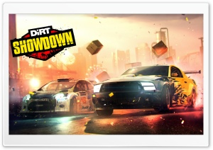 DiRT SHOWDOWN HD Wide Wallpaper for 4K UHD Widescreen desktop & smartphone