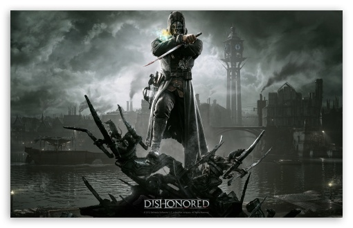 Dishonored HD wallpaper for Wide 16:10 5:3 Widescreen WHXGA WQXGA WUXGA WXGA WGA ; HD 16:9 High Definition WQHD QWXGA 1080p 900p 720p QHD nHD ; Standard 4:3 5:4 3:2 Fullscreen UXGA XGA SVGA QSXGA SXGA DVGA HVGA HQVGA devices ( Apple PowerBook G4 iPhone 4 3G 3GS iPod Touch ) ; Tablet 1:1 ; iPad 1/2/Mini ; Mobile 4:3 5:3 3:2 16:9 5:4 - UXGA XGA SVGA WGA DVGA HVGA HQVGA devices ( Apple PowerBook G4 iPhone 4 3G 3GS iPod Touch ) WQHD QWXGA 1080p 900p 720p QHD nHD QSXGA SXGA ;