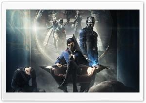 Dishonored 2 - Emily, Corvo Attano HD Wide Wallpaper for Widescreen