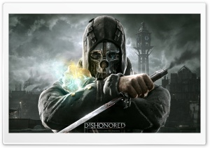 Dishonored HD Wide Wallpaper for Widescreen