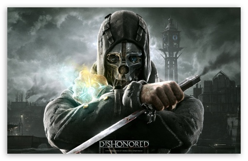 Dishonored HD wallpaper for Wide 16:10 5:3 Widescreen WHXGA WQXGA WUXGA WXGA WGA ; Standard 4:3 5:4 3:2 Fullscreen UXGA XGA SVGA QSXGA SXGA DVGA HVGA HQVGA devices ( Apple PowerBook G4 iPhone 4 3G 3GS iPod Touch ) ; Tablet 1:1 ; iPad 1/2/Mini ; Mobile 4:3 5:3 3:2 5:4 - UXGA XGA SVGA WGA DVGA HVGA HQVGA devices ( Apple PowerBook G4 iPhone 4 3G 3GS iPod Touch ) QSXGA SXGA ;