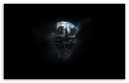 Dishonored Mask HD wallpaper for Wide 16:10 5:3 Widescreen WHXGA WQXGA WUXGA WXGA WGA ; HD 16:9 High Definition WQHD QWXGA 1080p 900p 720p QHD nHD ; Standard 4:3 5:4 3:2 Fullscreen UXGA XGA SVGA QSXGA SXGA DVGA HVGA HQVGA devices ( Apple PowerBook G4 iPhone 4 3G 3GS iPod Touch ) ; Tablet 1:1 ; iPad 1/2/Mini ; Mobile 4:3 5:3 3:2 16:9 5:4 - UXGA XGA SVGA WGA DVGA HVGA HQVGA devices ( Apple PowerBook G4 iPhone 4 3G 3GS iPod Touch ) WQHD QWXGA 1080p 900p 720p QHD nHD QSXGA SXGA ;