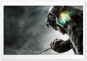 Dishonored Rain HD Wide Wallpaper for Widescreen